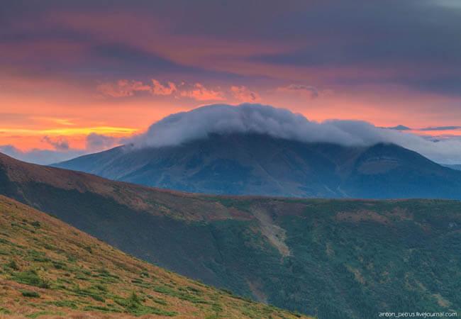 """Гора """"Говерла""""."""