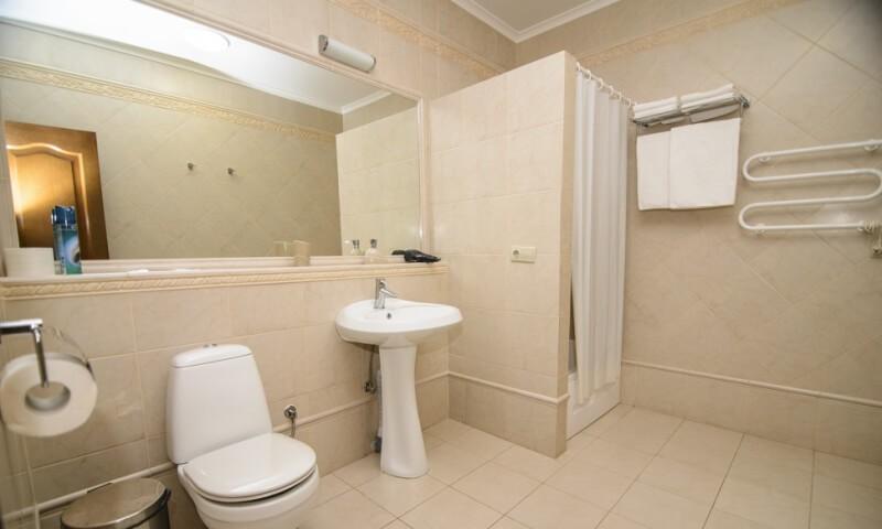 Санаторий Горная Тиса Номер - Однокомнатный Kvasy Deluxe - Туалет.