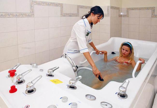 Лечебные ванны Закарпатья.