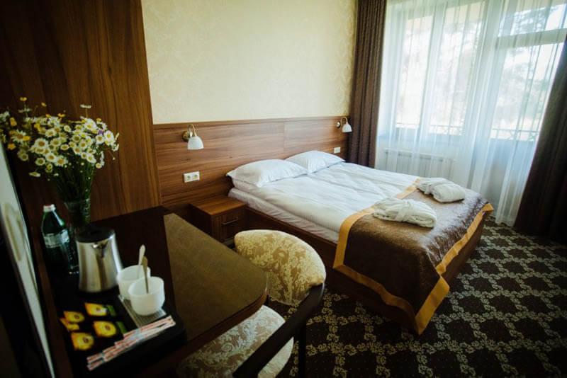 Кришталеве Джерело Номер Двухместный - Кровать.