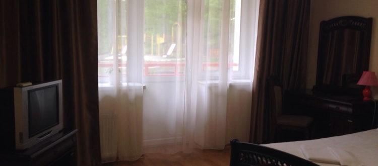 Санаторий Солнечный Номер люкс - шторы.