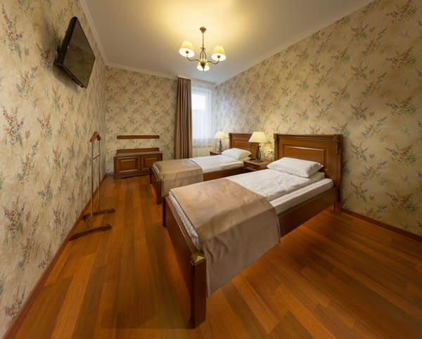 Деренивская Купель номер семейный - Спальня.