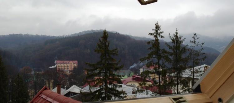 Санаторий Солнечный Номер семейный полулюкс - Вид на лес.
