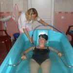 Санаторий Боржава Фото - Подводный массаж.