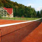 Санаторий Карпатия Закарпатье - теннисный корт.
