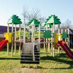 Санаторий Кришталеве Джерело Фото - детская площадка.
