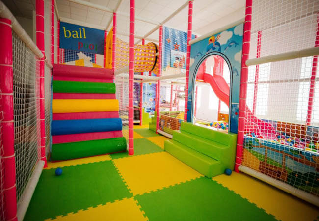 Санаторий Кришталеве Джерело Фото - Детская комната.