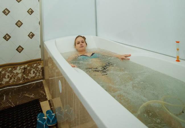Санаторий Кришталеве Джерело Фото - Лечебная ванна.