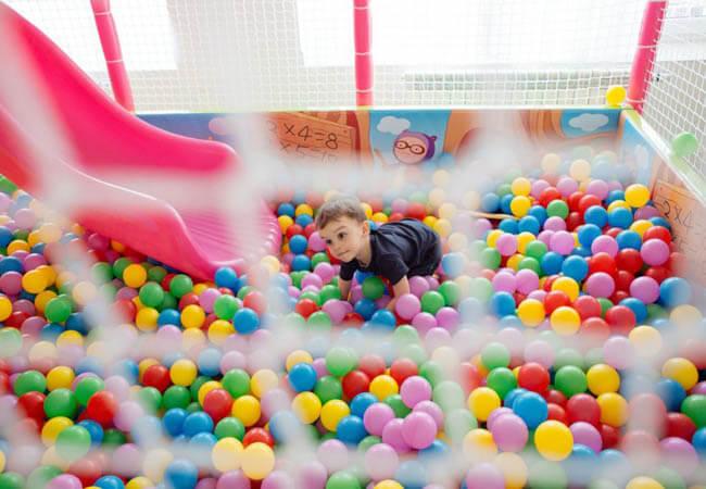 Санаторий Кришталеве Джерело Фото - детская зона.