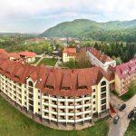 Санаторий Квитка Полонины Фото - Вид с воздуха.