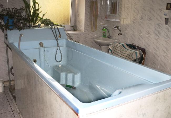 Санаторий Солнечное Закарпатье - гидромассажная ванна.