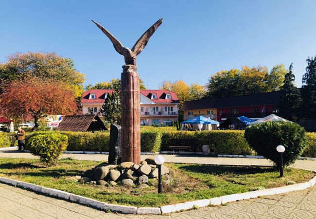 Санаторий Солнечное Закарпатье - Памятник.