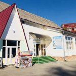 Санаторий Солнечное Закарпатье - Вход в лечебницу.