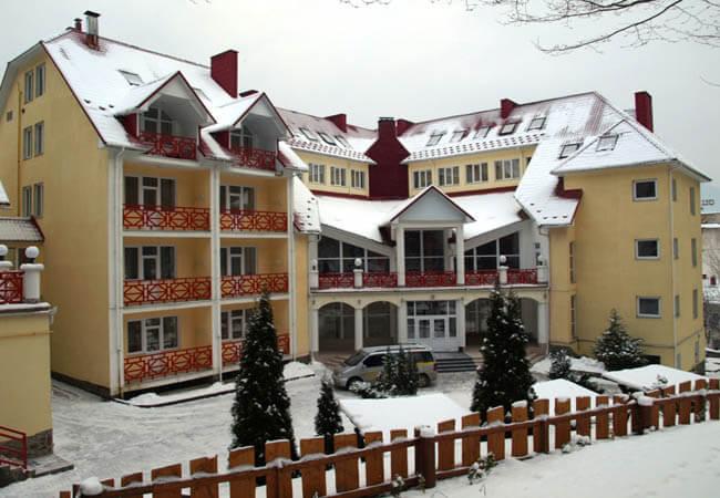 Санаторий Солнечный Фото - зимой.