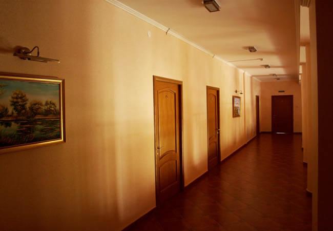 Санаторий Солнечный Фото - Коридор.