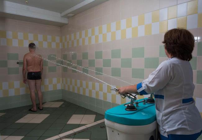 Санаторий Солнечная Долина Фото - душ шарко.