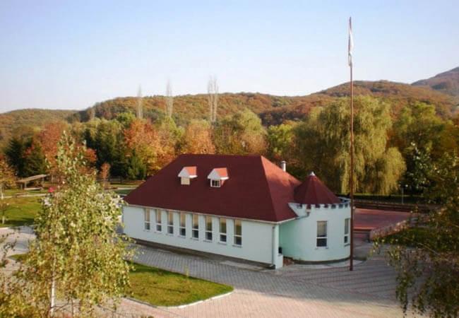Санаторий Теплица Закарпатье Фото - Здание.