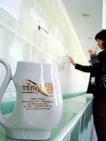 Санаторий Теплица Закарпатье Фото - Бювет.