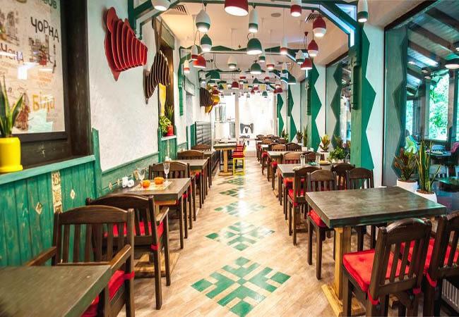Санаторий Горная Тиса Фото - место питания