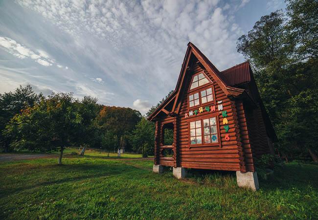 Санаторий Карпатия Шаян - Детский домик.