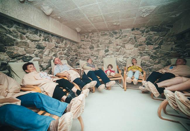 Санаторий Карпатия Шаян - Соляная комната.