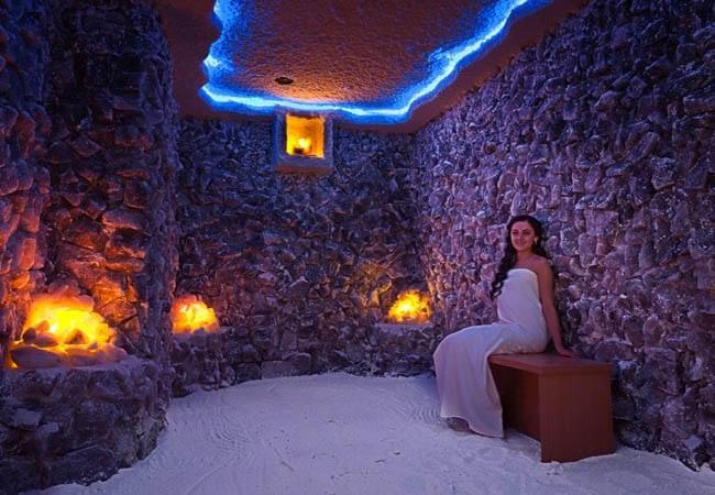 Соляная пещера в Закарпатье