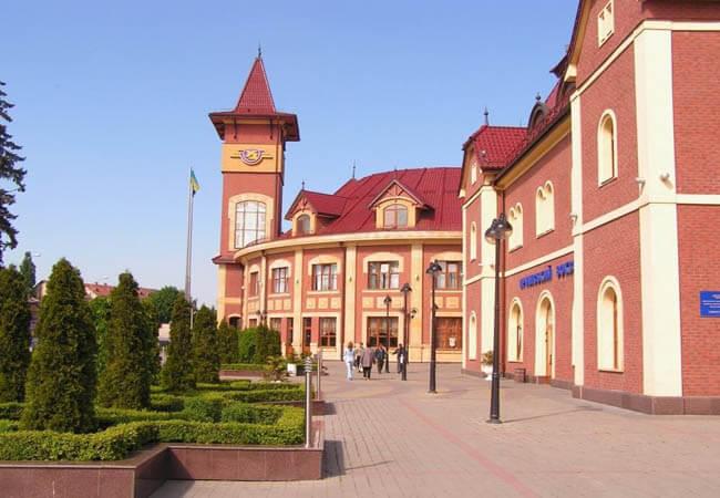 Вокзал Ужгорода.