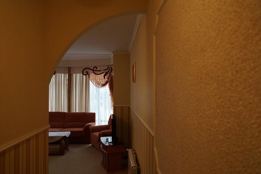 Отель Сенатор Апартаменты с кухней - Гостиная.