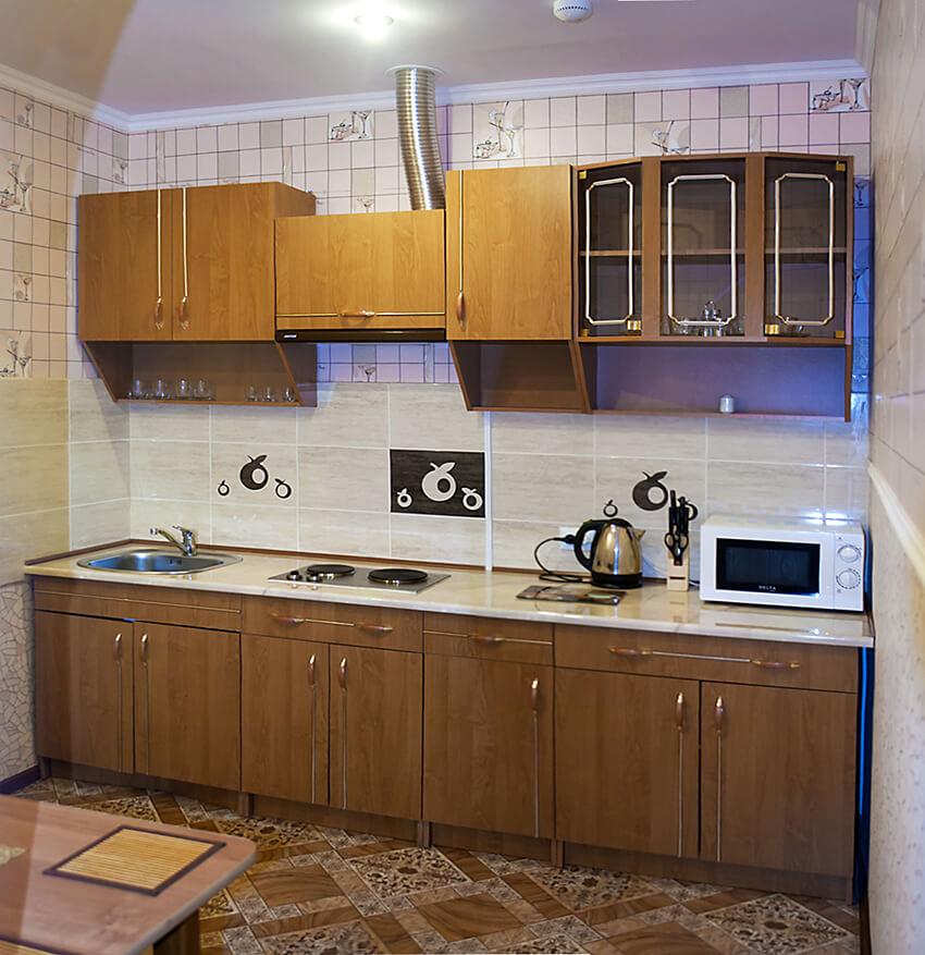 Отель Сенатор Апартаменты с кухней - Кухня.