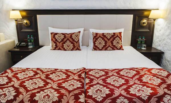 Иванчо Бирток номер - стандарт - двуспальная кровать.