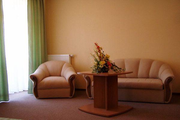 Отель Мариот Трускавец Номер - люкс - диван.