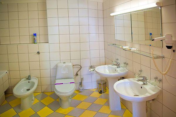 Отель Мариот Трускавец Номер - люкс - санузел.