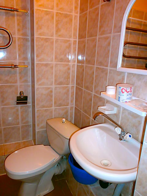 Санаторий Черемош Номер 1мест. стандарт - туалет.