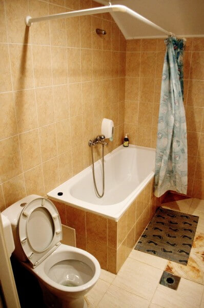 Отель Мальвы Номер 2-комнатный люкс - Ванна.
