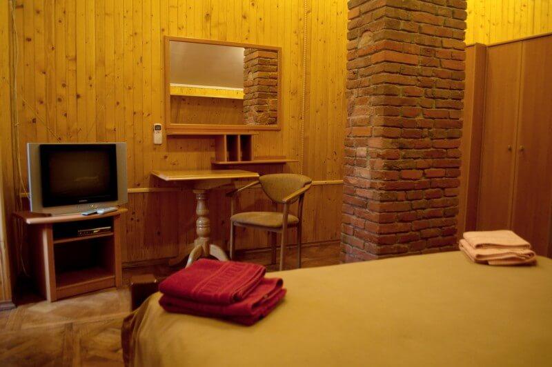 Отель Мальвы Номер 2-комнатный люкс - Зеркало.