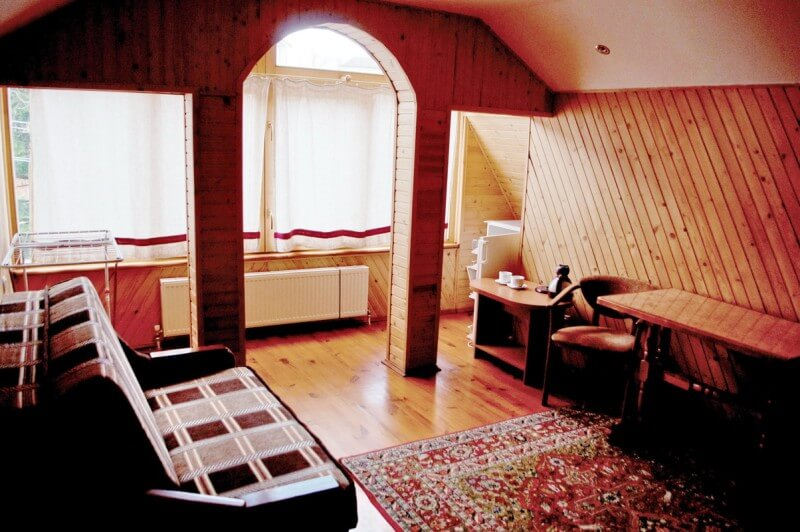 Отель Мальвы Номер 2-комнатный люкс - Комплектация.