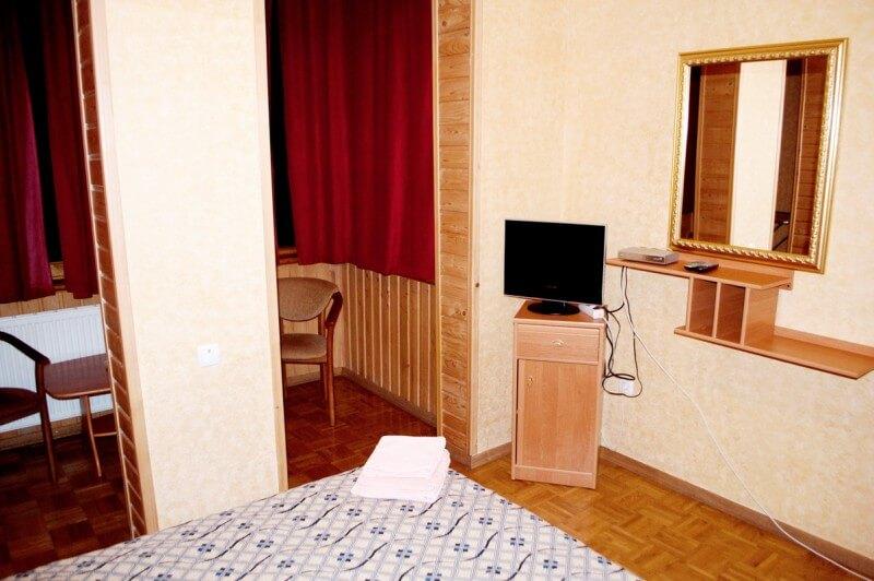 Отель Мальвы Номер 2-комнатный семейный - Спальня.