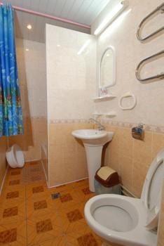Санаторий Лаванда номер стандарт 2ком. - туалет.