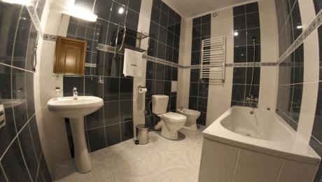 Отель РеВита Номер 2-комнатный люкс - Санузел.