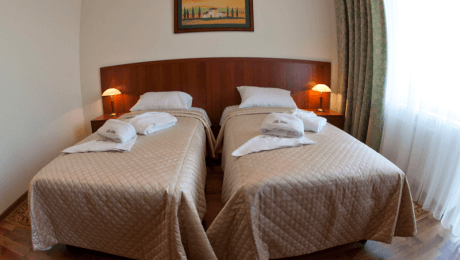 Отель РеВита Номер Стандарт 2-местный twin - Спальня.