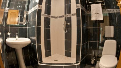 Отель РеВита Номер Стандарт 1-местный - Душевая