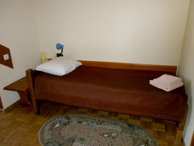 Отель Мальвы Номер 1-местный стандарт - Кровать.
