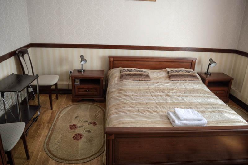Отель Сенатор Номер Twin/dbl - Кровать.