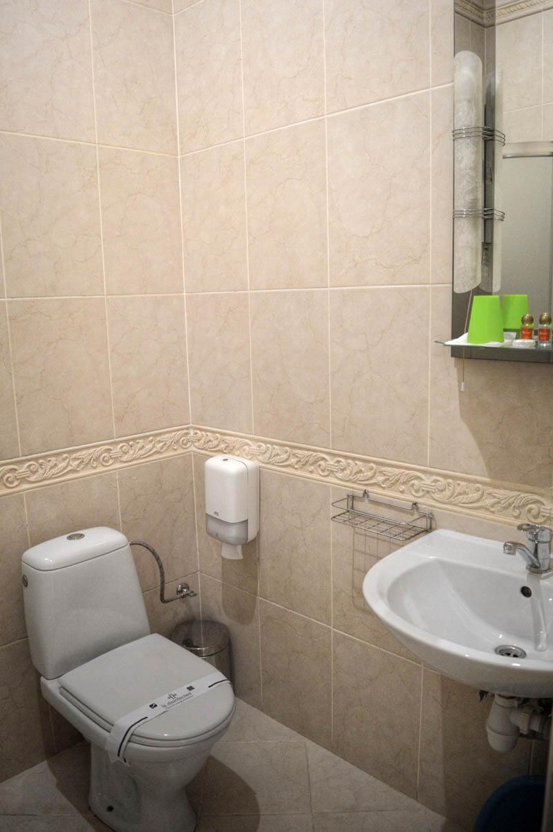 Отель Сенатор Номер Twin/dbl - Туалет.