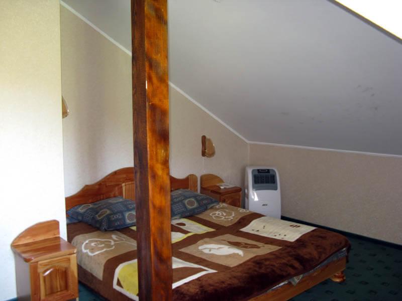 Ориана Трускавец Номер Люкс 2-комнатый - Спальня.