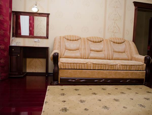 Отель Нафтуся номер супер люкс - Гостиная.