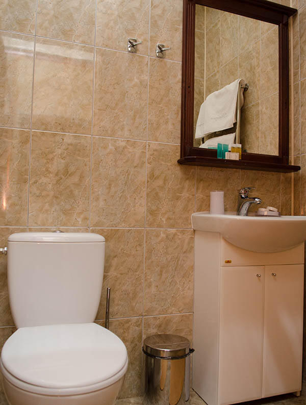 Отель Нафтуся номер супер люкс - Туалет.