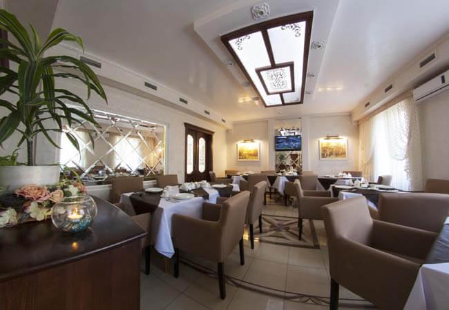 Отель Нафтуся Трускавец Фото - ресторан.