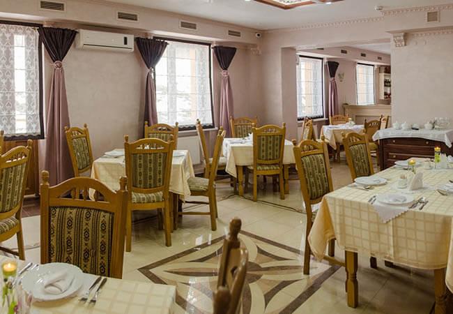 Отель Нафтуся Трускавец Фото - Столовая.