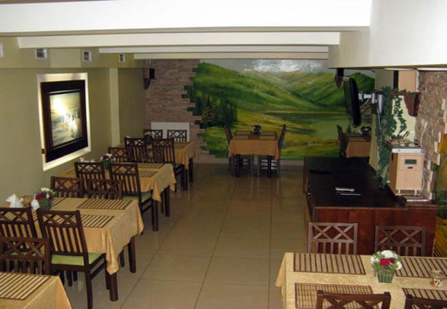 Отель Ориана Трускавец Фото - Ресторан.